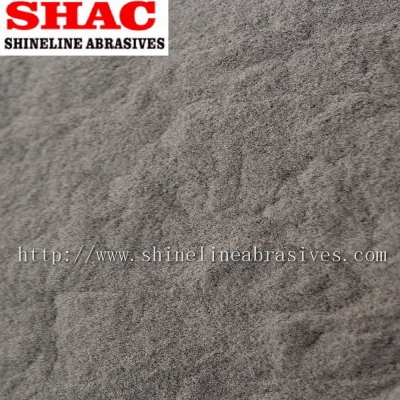 Brown aluminium oxide micro powder