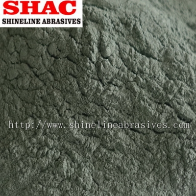 Green silicon carbide micro powder